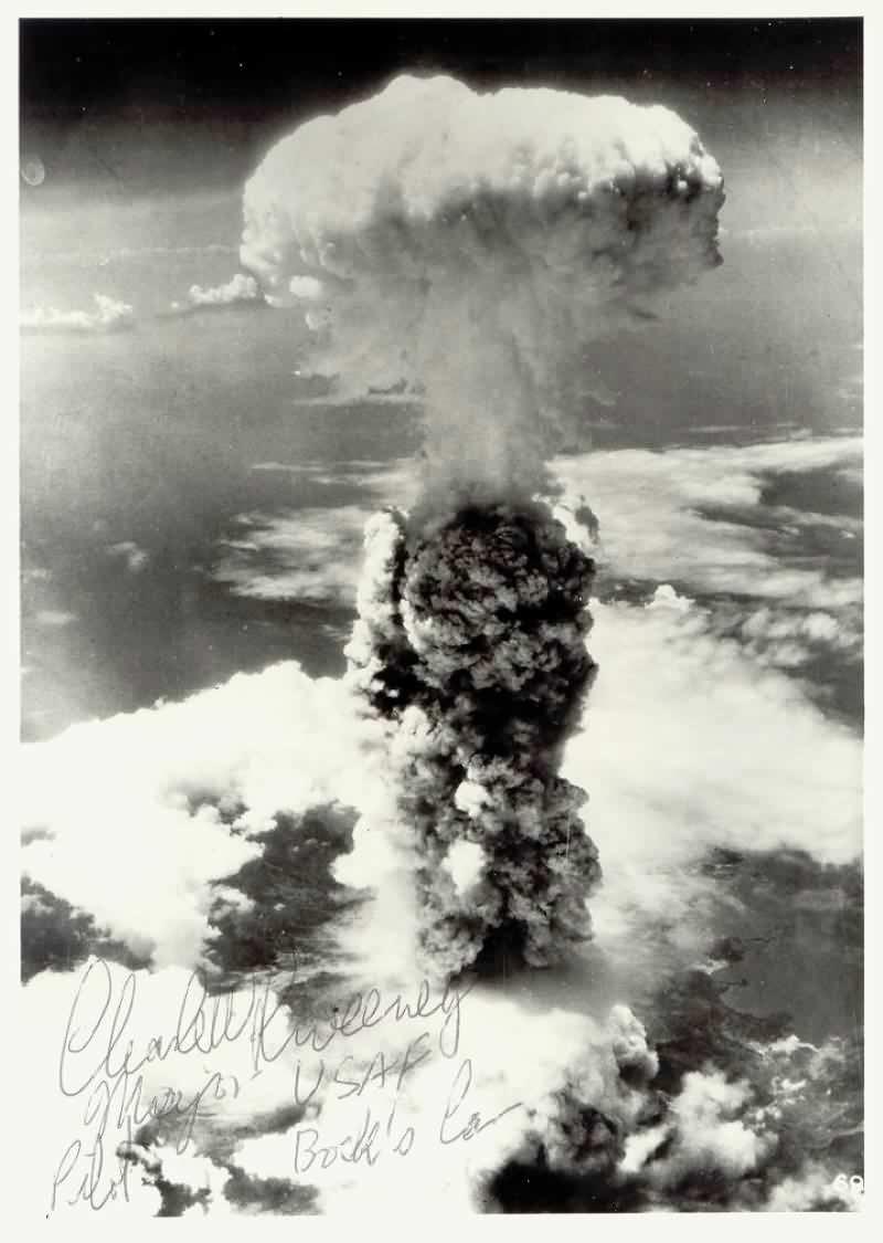 Idaho Observer  The Bombing Of Nagasaki August 9  1945